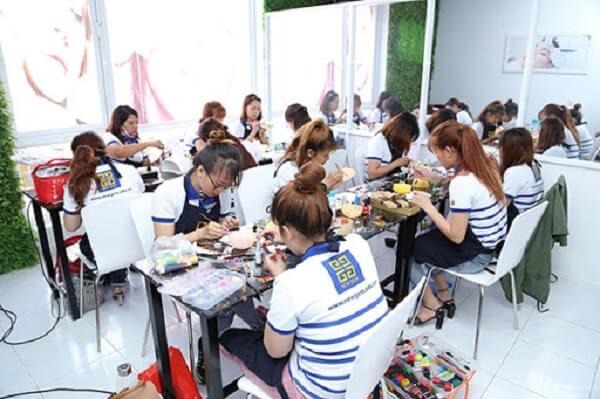 IV. Nội dung khóa đào tạo, học nail chuyên sâu tại New Gem khác gì sovới các khóa học trên thị trường