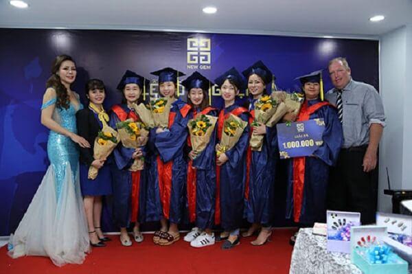 Khóa học nghề Spa công nghệ cao tại Học viện thẩm mỹ New Gem uy tín chất lượng nhất tại Tphcm