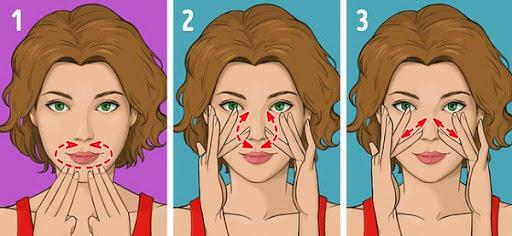 Cách massage mặt của người Nhật giúp thon gọn, sáng hồng da mặt, chống chảy xệ
