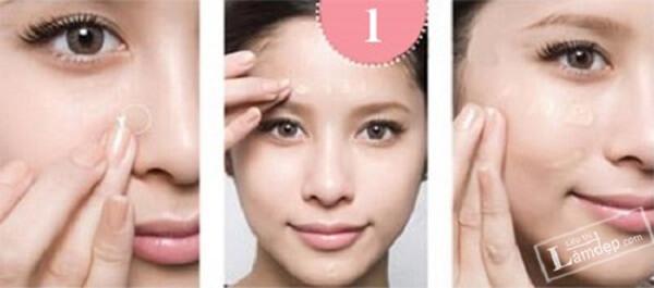 Bước đầu tiên trong trang điểm luôn là làm sạch da mặt