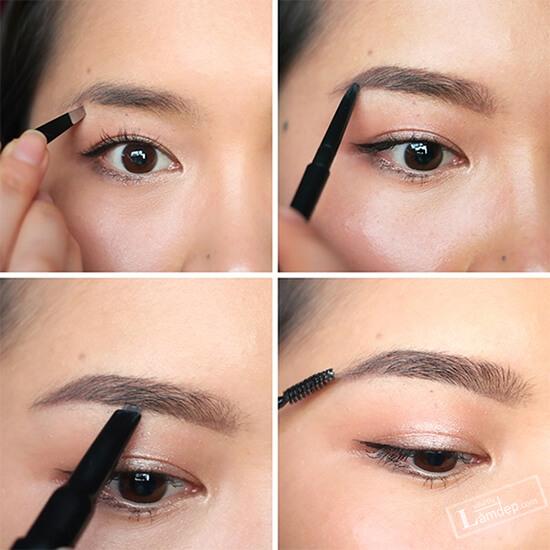 Bạn có thể sử dụng chì kẻ mắt nước để tạo điểm nhất cho đôi mắt