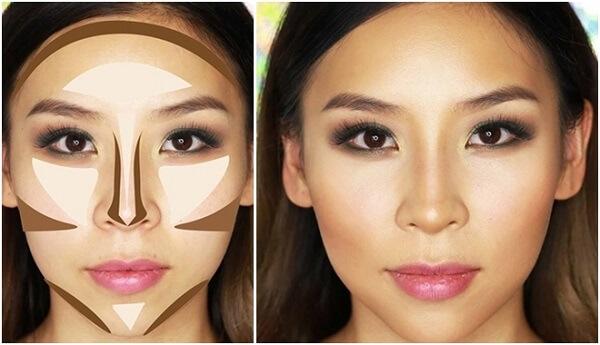 Bí kíp tạo khối khuôn mặt hoàn hảo cực chuẩn cho các nàng