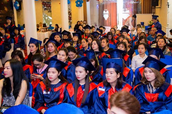 Lễ tốt nghiệp tưng bừng tại Học viện Thẩm mỹ New Gem