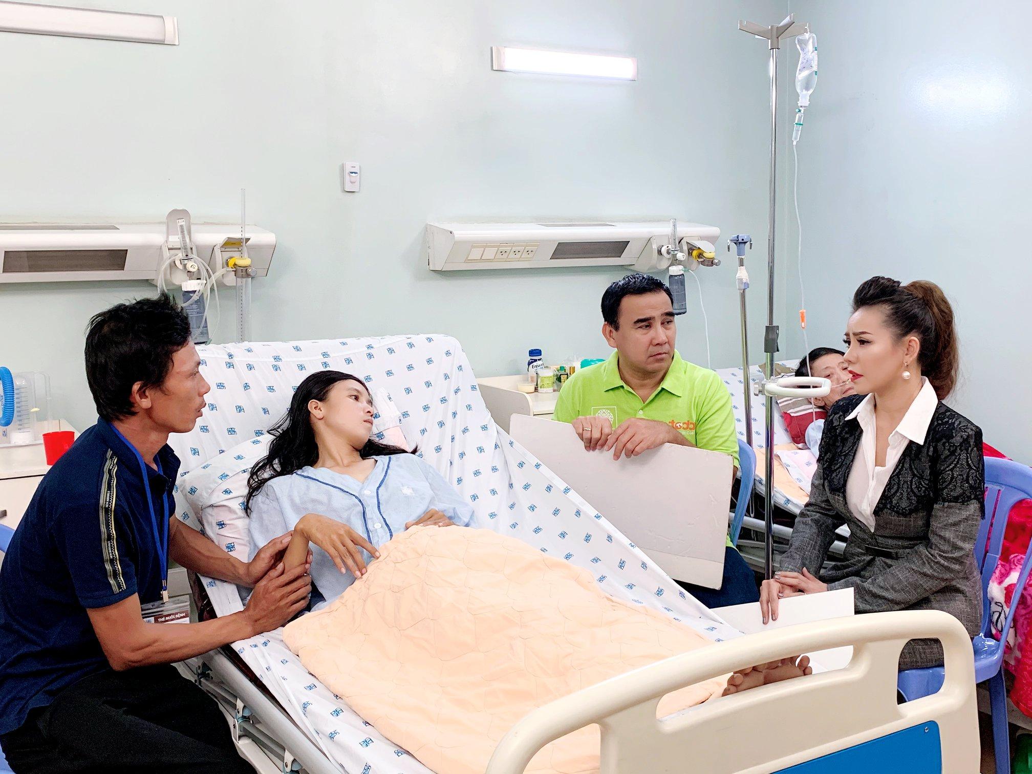 Hoa hậu nhân ái Jolie Thơ Nguyễn đồng hành cùng chương trình Tiếp sức hồi sinh 4
