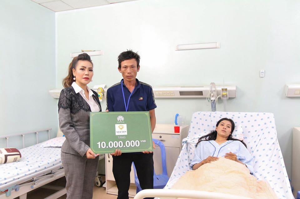 Hoa hậu nhân ái Jolie Thơ Nguyễn đồng hành cùng chương trình Tiếp sức hồi sinh 3